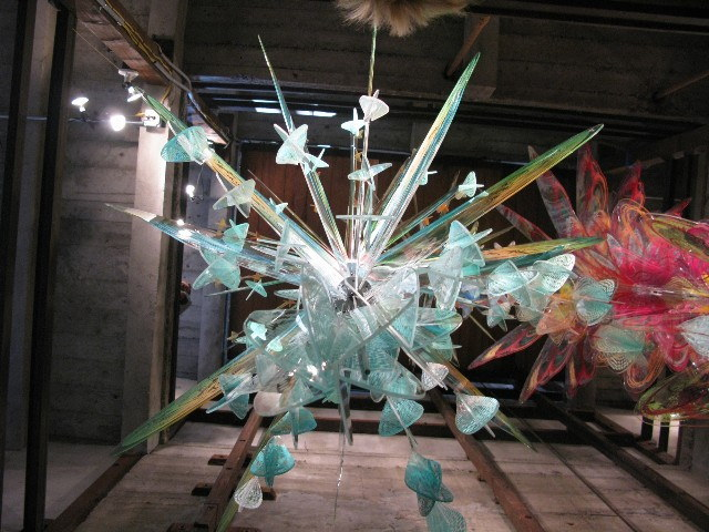 Detail of installation at John Davis Gallery 2010