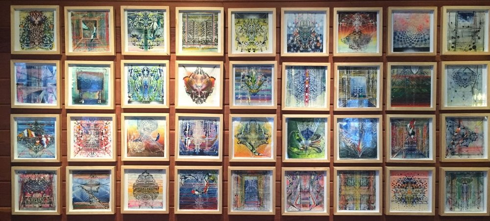 India Series: 50 small works on paper (2014/15)