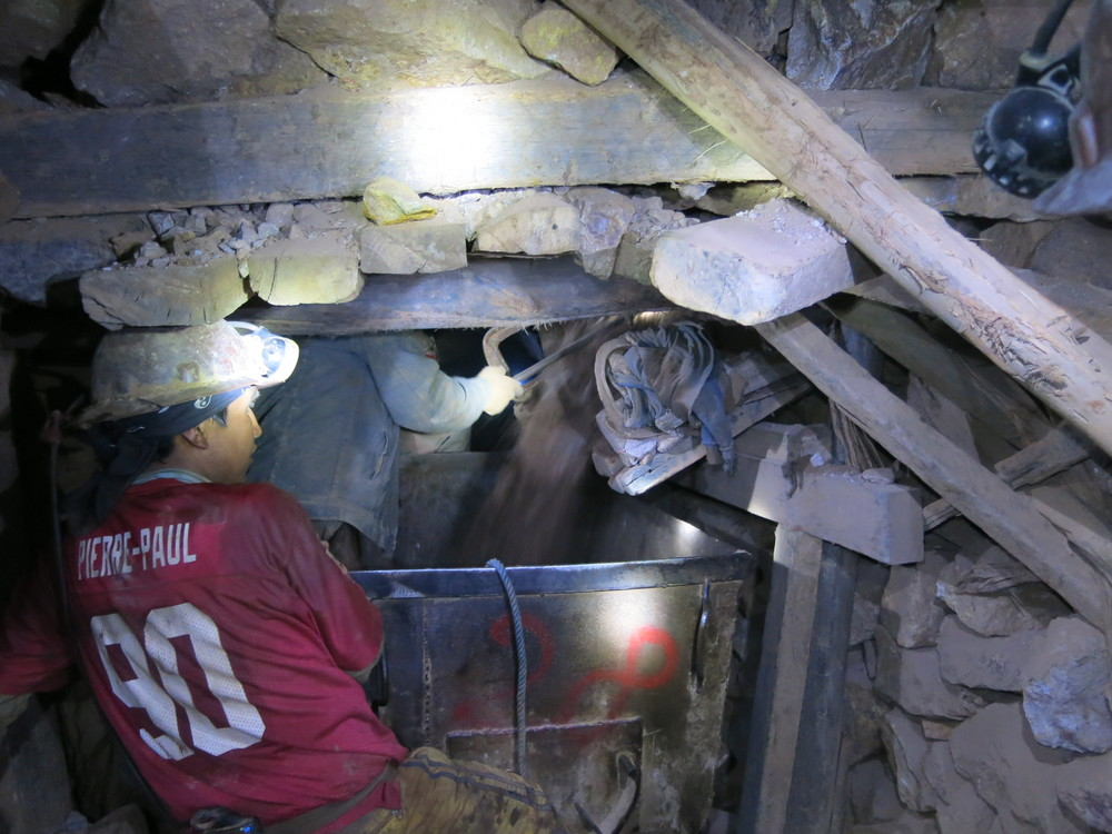 The Potosi silver mines...500 years and still mining!