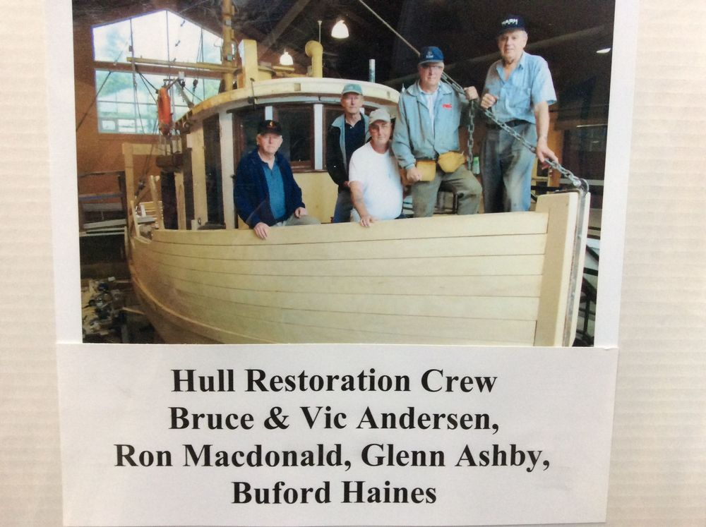 The restoration 'crew'