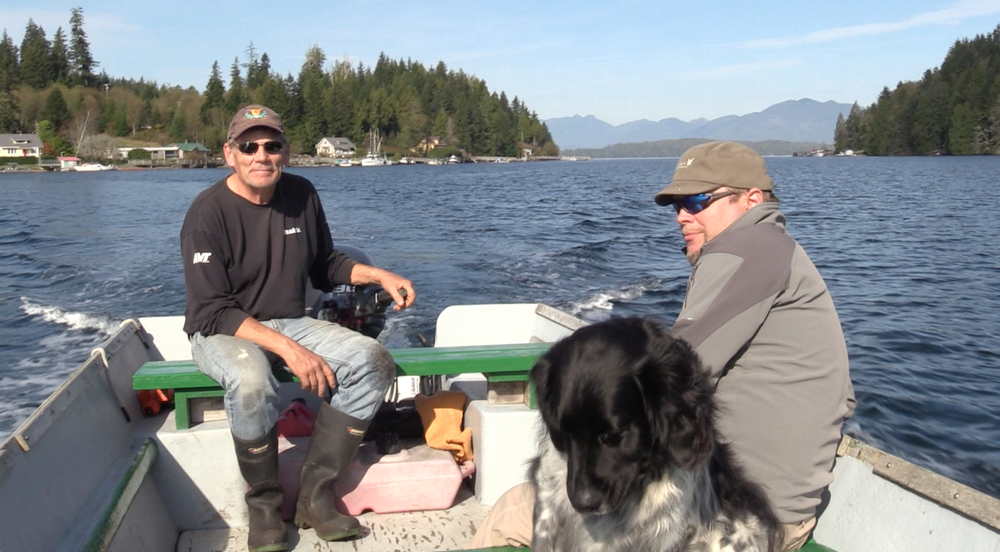 Mark and his dog Biff provide a great water taxi service