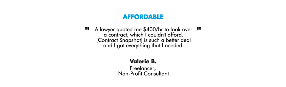 Copy of Affordable Contract Legal Template Form Help Business