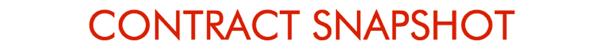Contract Snapshot