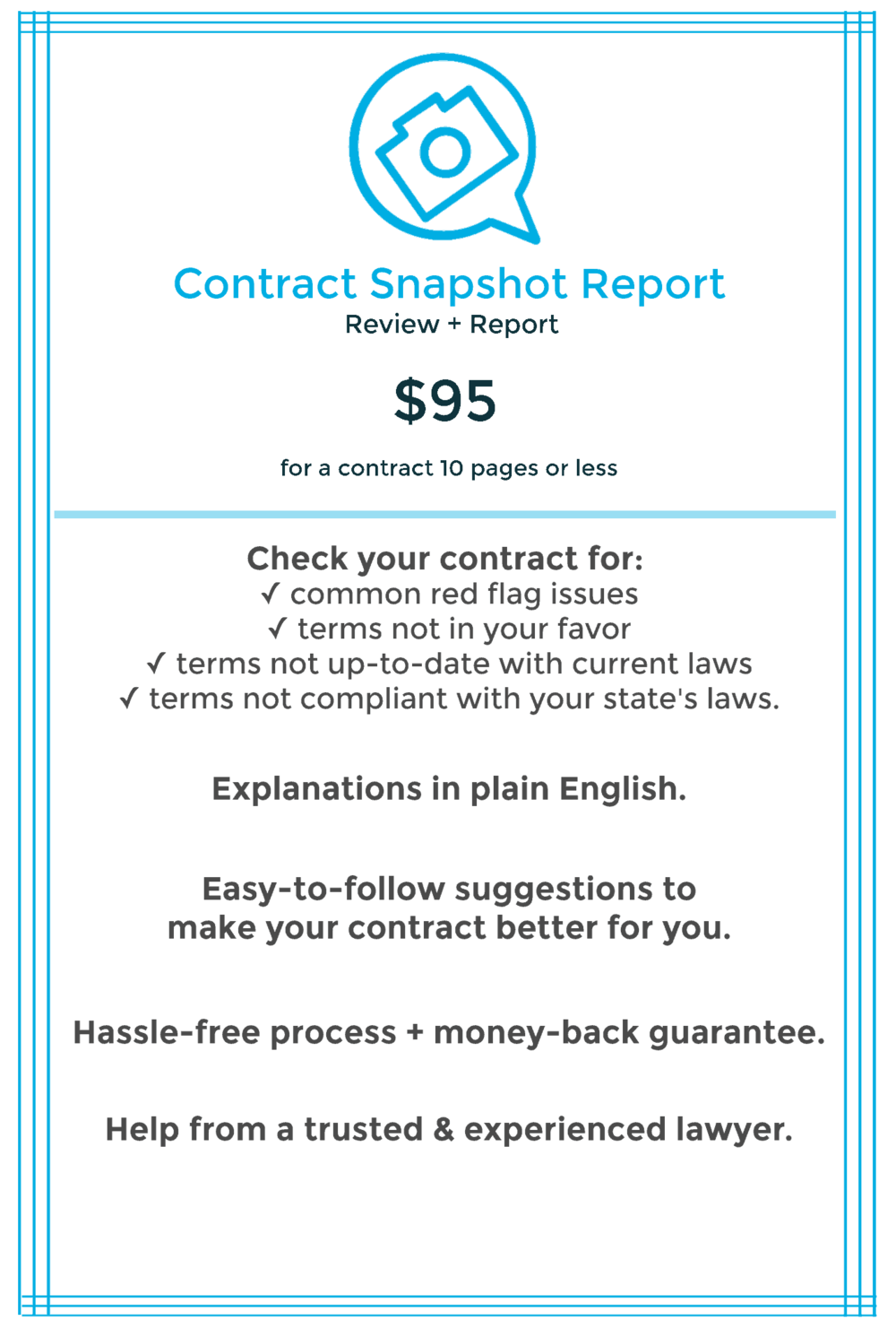 Contract Template Legal Help for Business Form Review