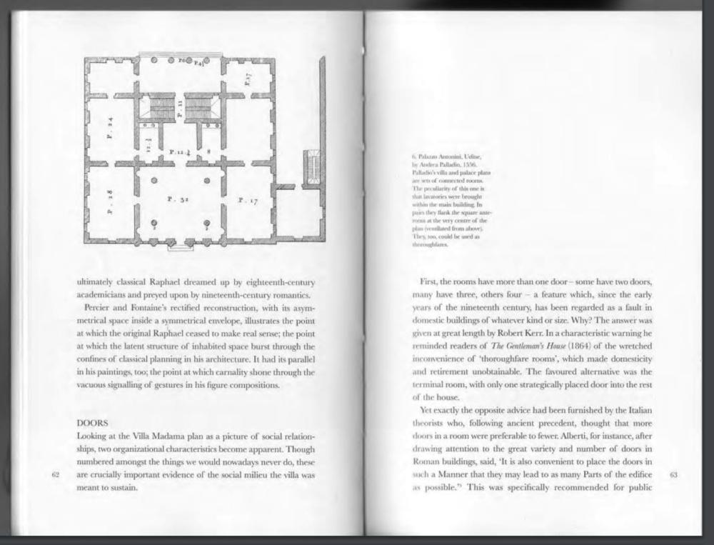 Robin Evans, Figures Doors Passageways