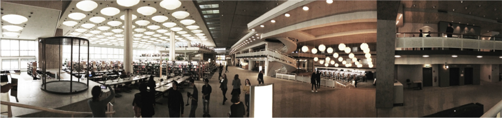Berlin State Library, Architect Hans Scharoun