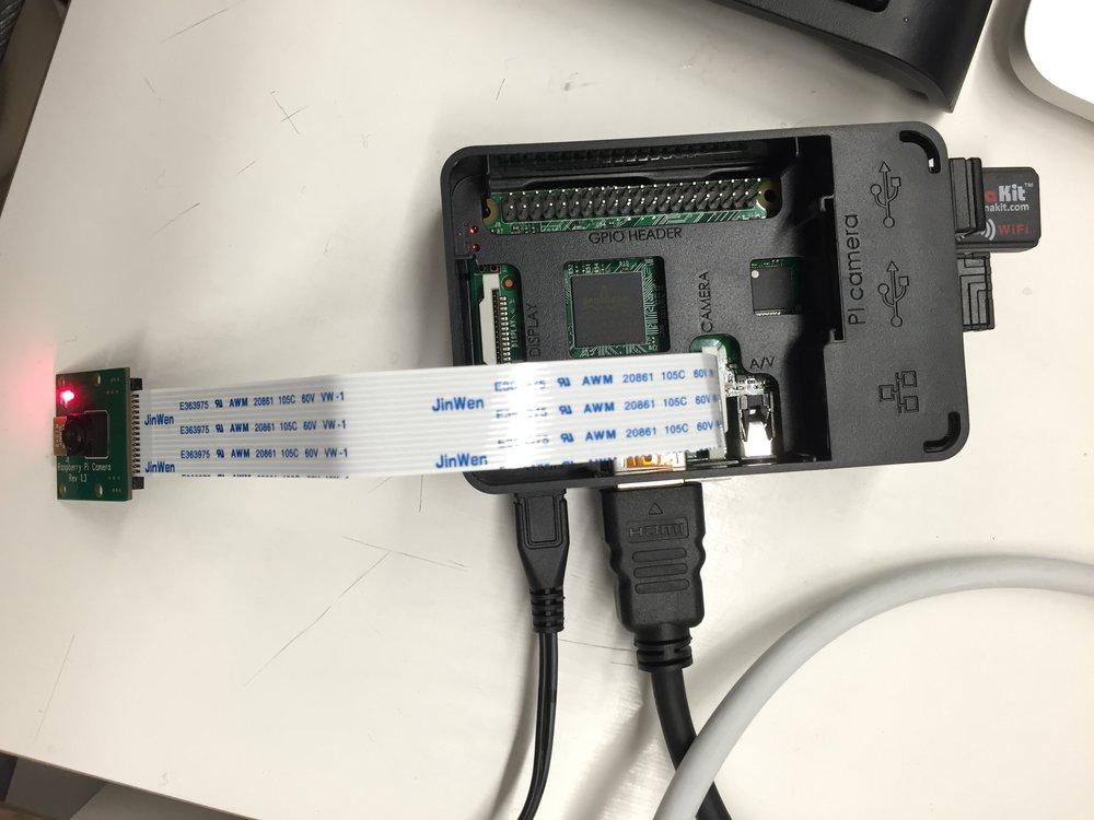 arduino setup for camera