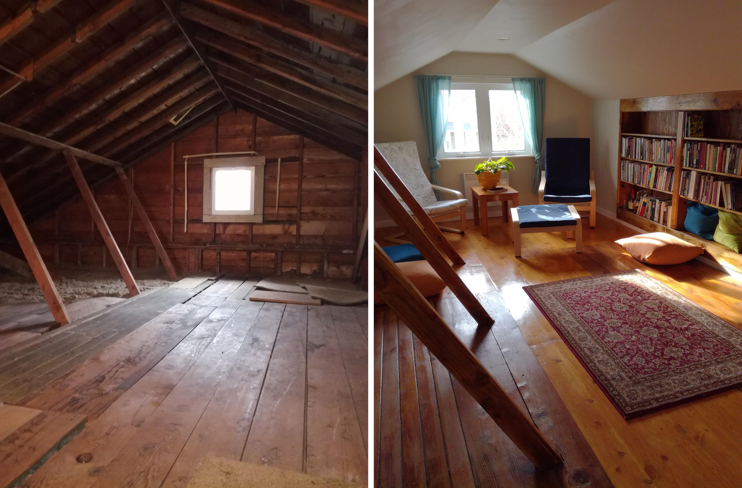 Attic Remodel by TTL Member — Ta a Tool Library