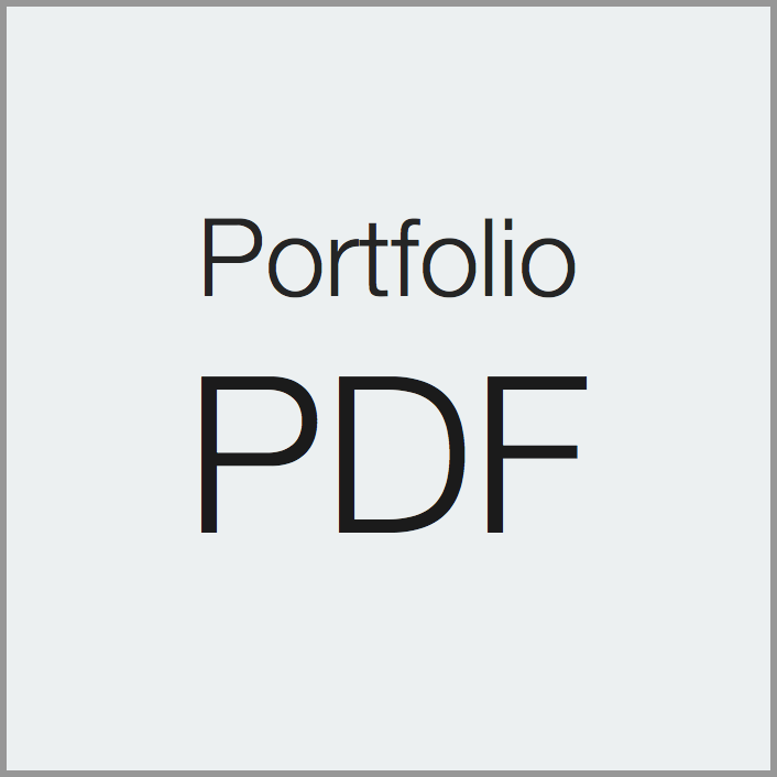 Portfolio in PDF format (opens in a new window)