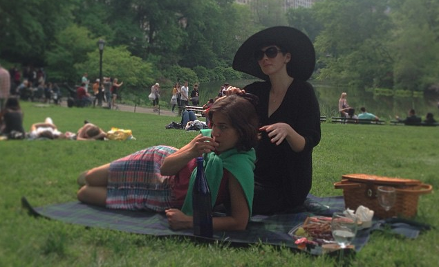 "A still from ""Drifting in Daylight"" in Central Park."