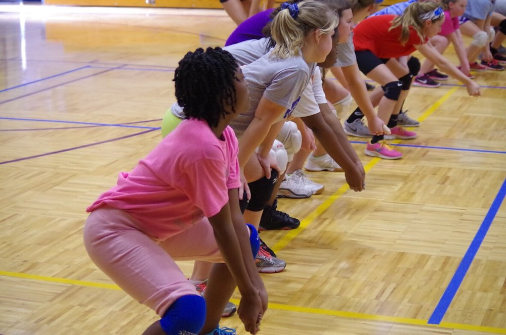 C2 Volleyball offers skill-specific Satellite camps for all levels.