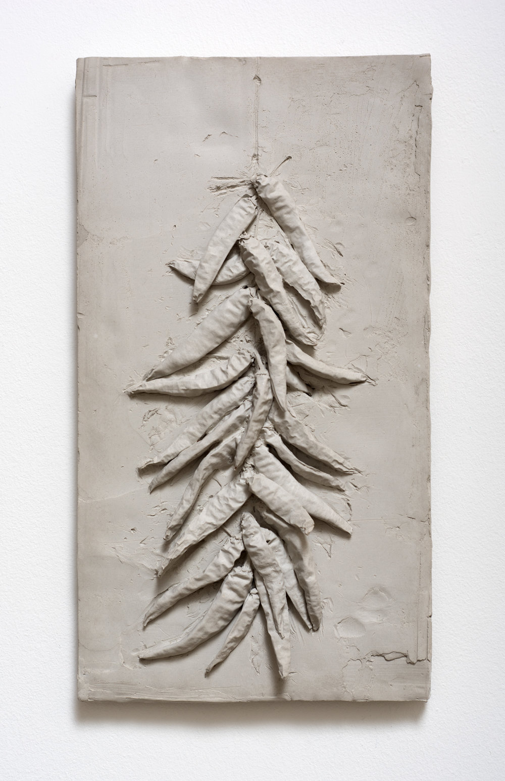 Peperoncini , 2017 Cement 15 1/2 x 8 1/2 x 2 3/4 inches