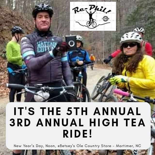 Just 4 days until the first best ride of 2019! Join @rhoddiebicycleoutfitters , @overmountaincycles , @pedalworkshky  and us for the High Tea Ride. Bring food and drinks to share before, during and after the ride!  #RideEverything #gravelcycling #gravelgrinder #gravelcyclist