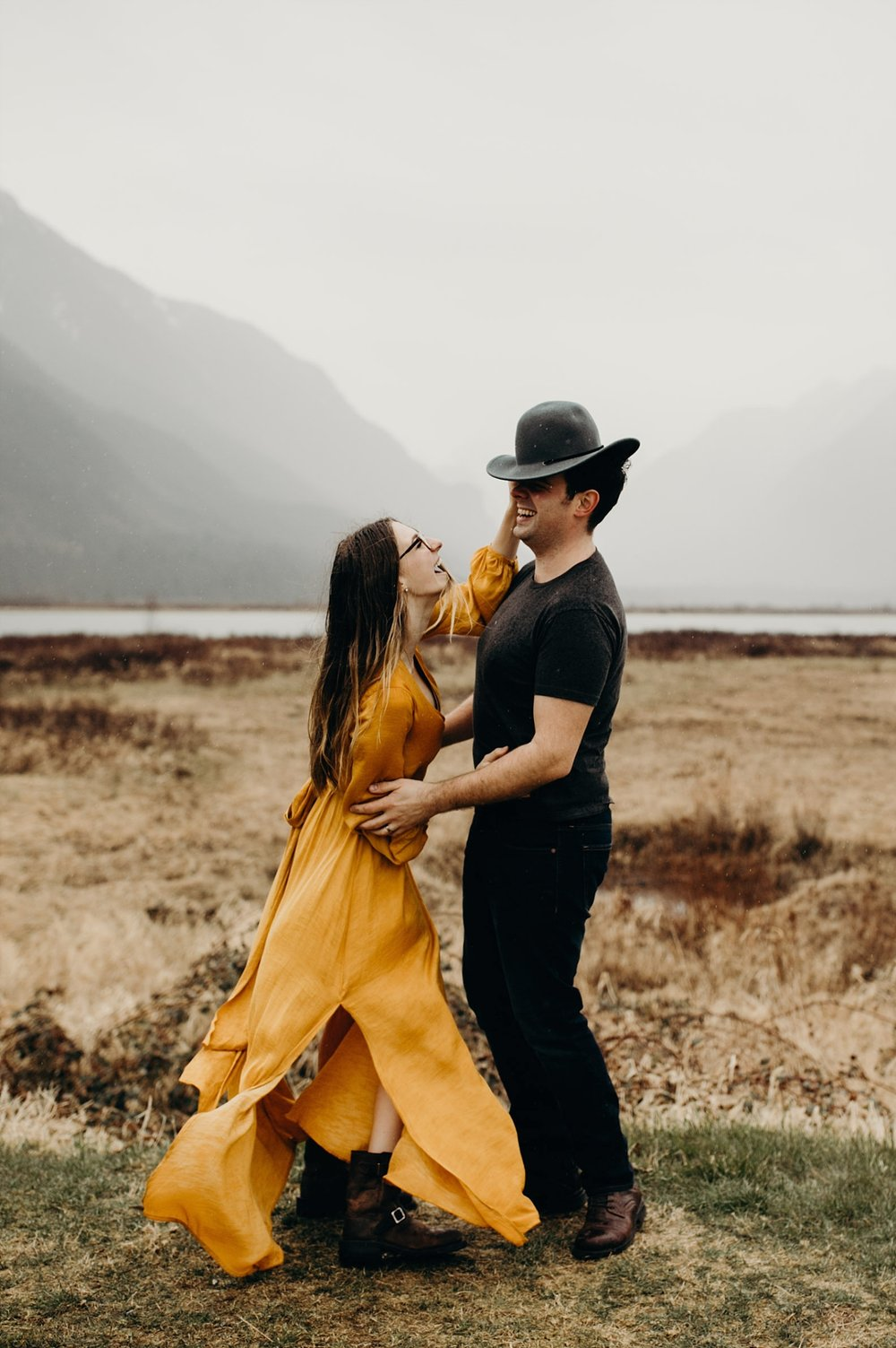 The McLachlans - Vancouver Wedding Photographers - Pitt Lake Engagements - Dan and Alleigra_0011.jpg