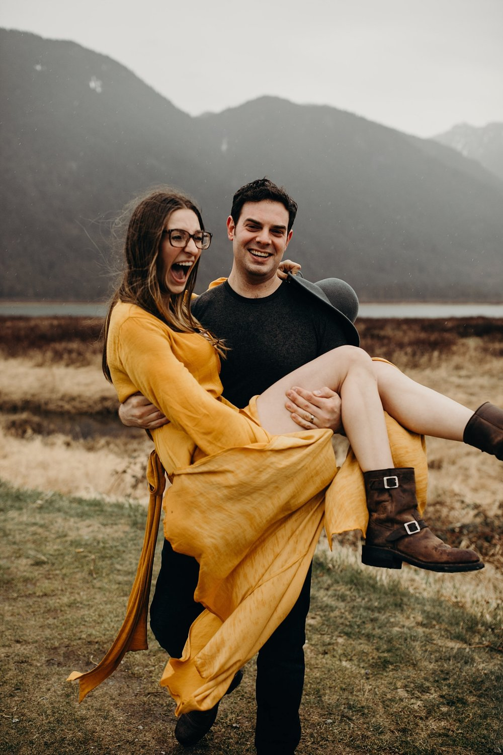 The McLachlans - Vancouver Wedding Photographers - Pitt Lake Engagements - Dan and Alleigra_0012.jpg