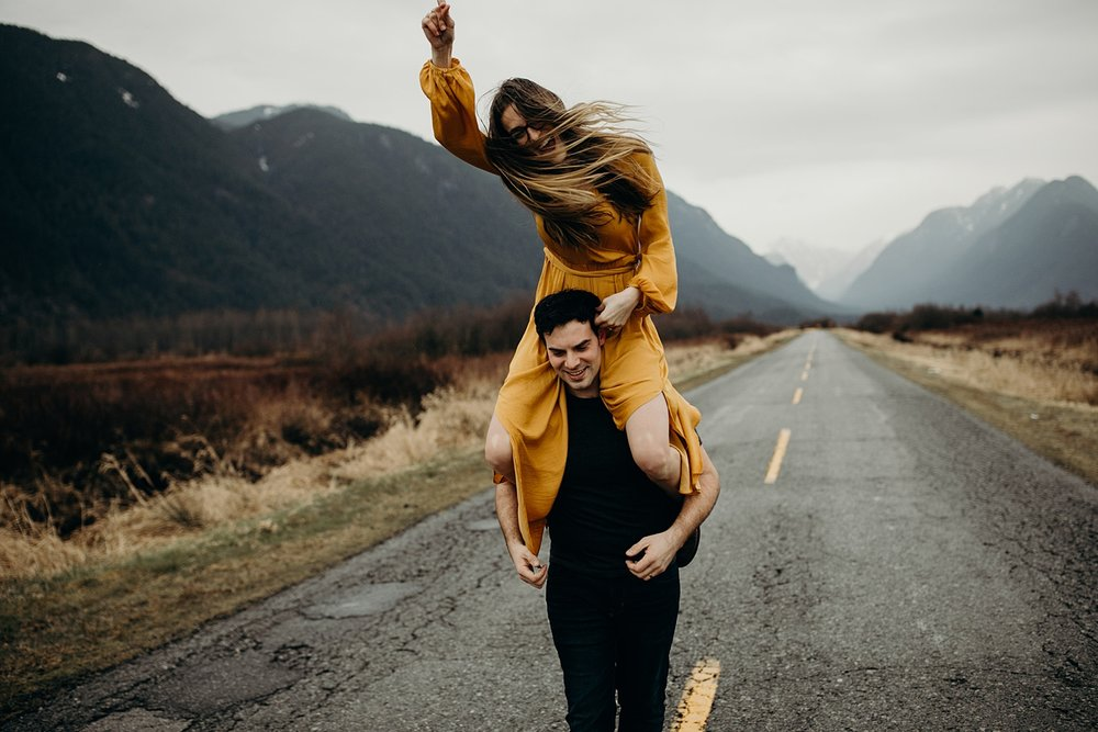 The McLachlans - Vancouver Wedding Photographers - Pitt Lake Engagements - Dan and Alleigra_0025.jpg