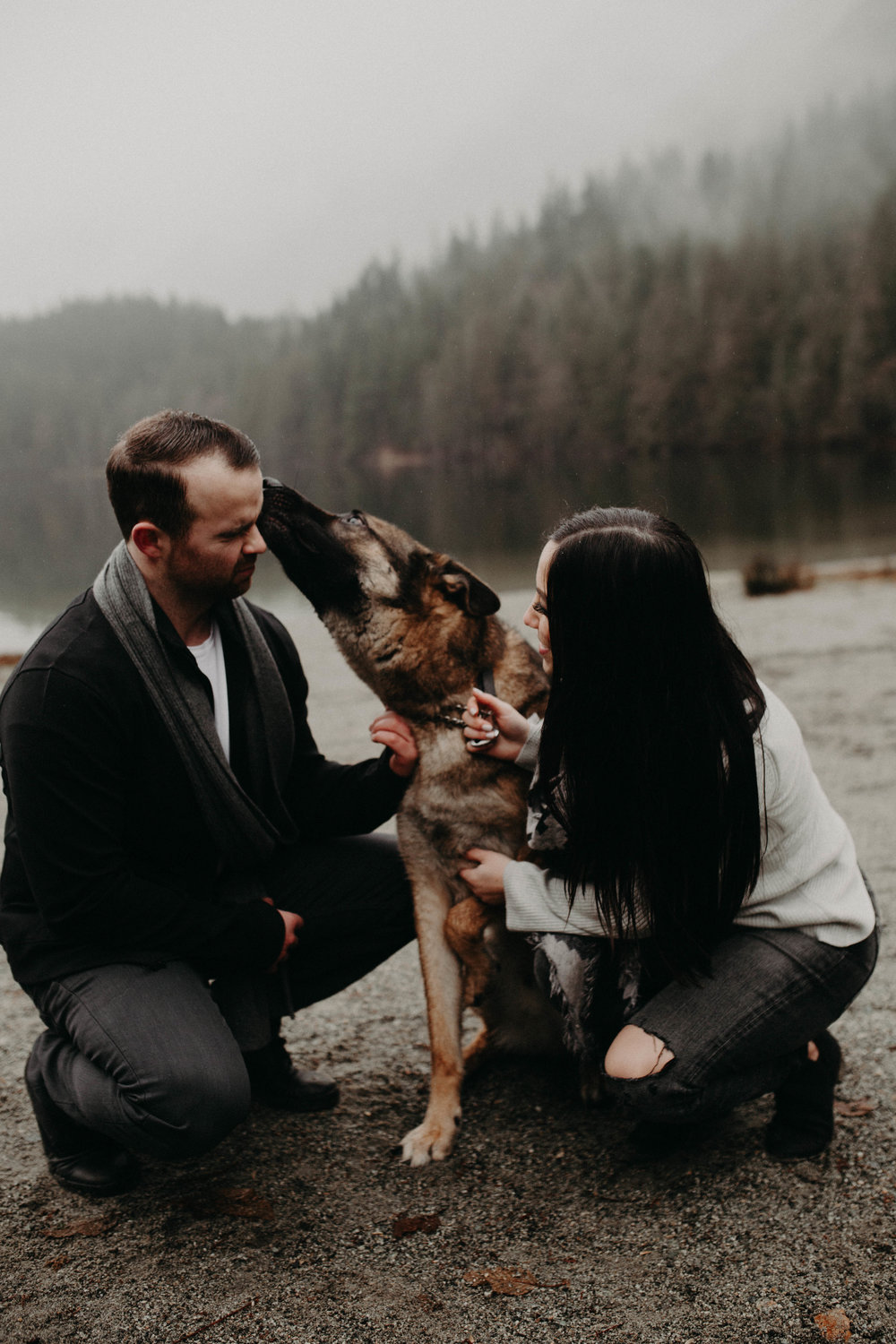 The McLachlans - BC Wedding Photographer - Buntzen lake engagements - Kurtis and Jessica -107.jpg