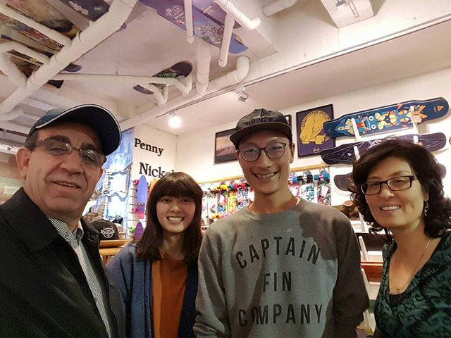 Wasn't able to make it out myself so I had mama and papa Joypulp stop by and scout out @tigersurfshop back in my hometown of Taipei. I wake up to a 3am phone call from Tiger himself with an invitation to go ride next time we're in in town. @dylan_courville, @andrewdunaenko, @eliasjmartin if you guys can brush up on your Mandarin Chinese in your spare time we've got a trip to Taiwan to make in our future!