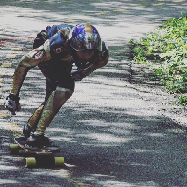 @dylan_courville dodging potholes at the #HighLevelDownhill back in the summer. #ZenosBane @nylbc