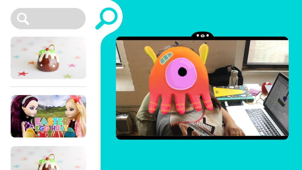 Video Search mini Tab