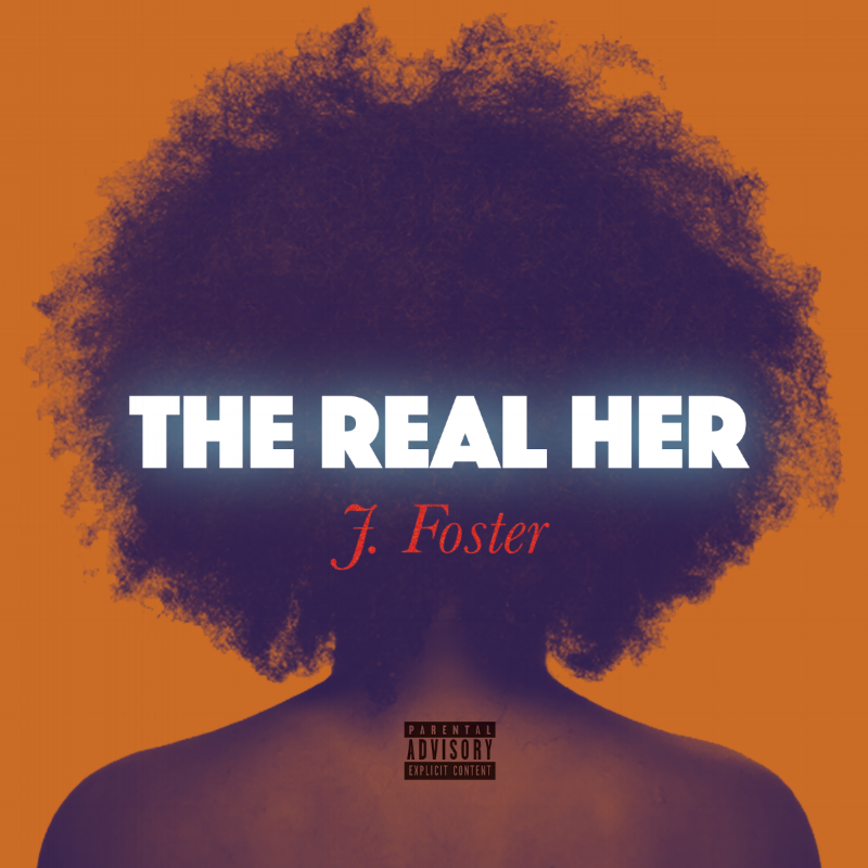 art cover |  j foster / the real her