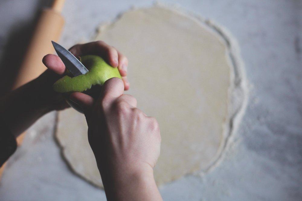 Autumn Apple Galette- Tastemaker Blog