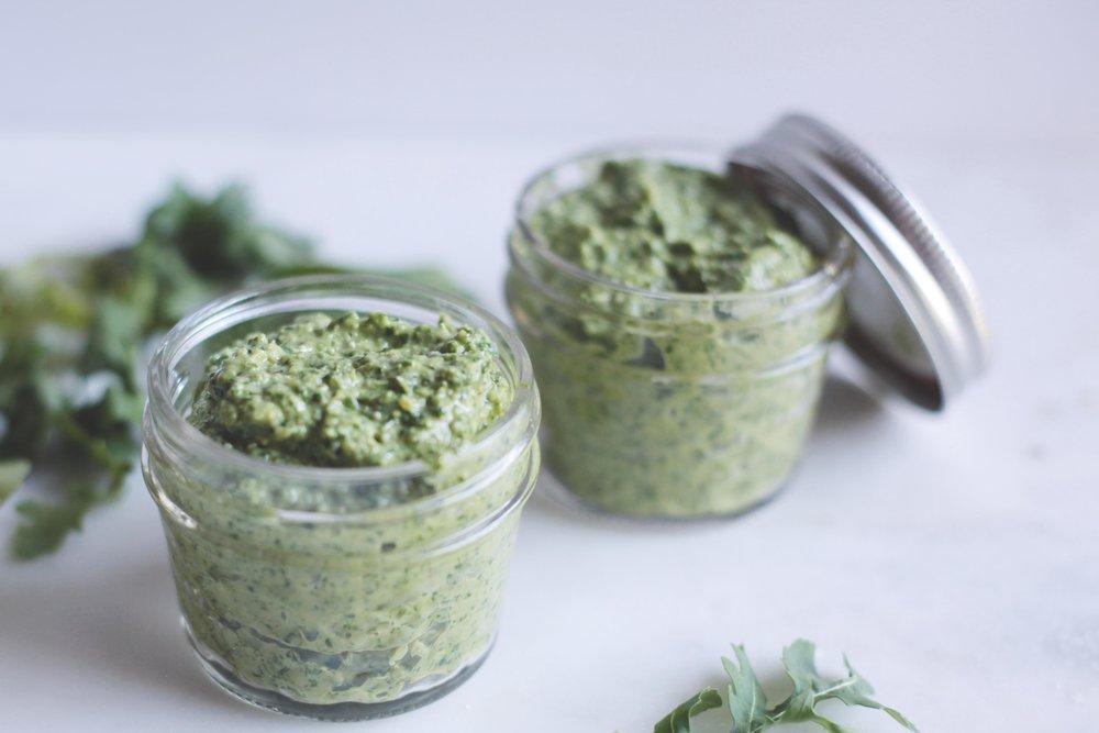 Arugula Pesto - Tastemaker Blog