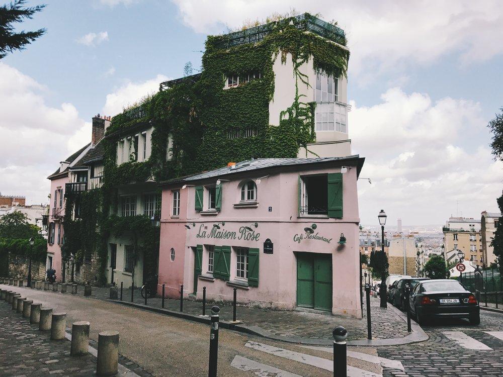 Maison Rose, Montmartre