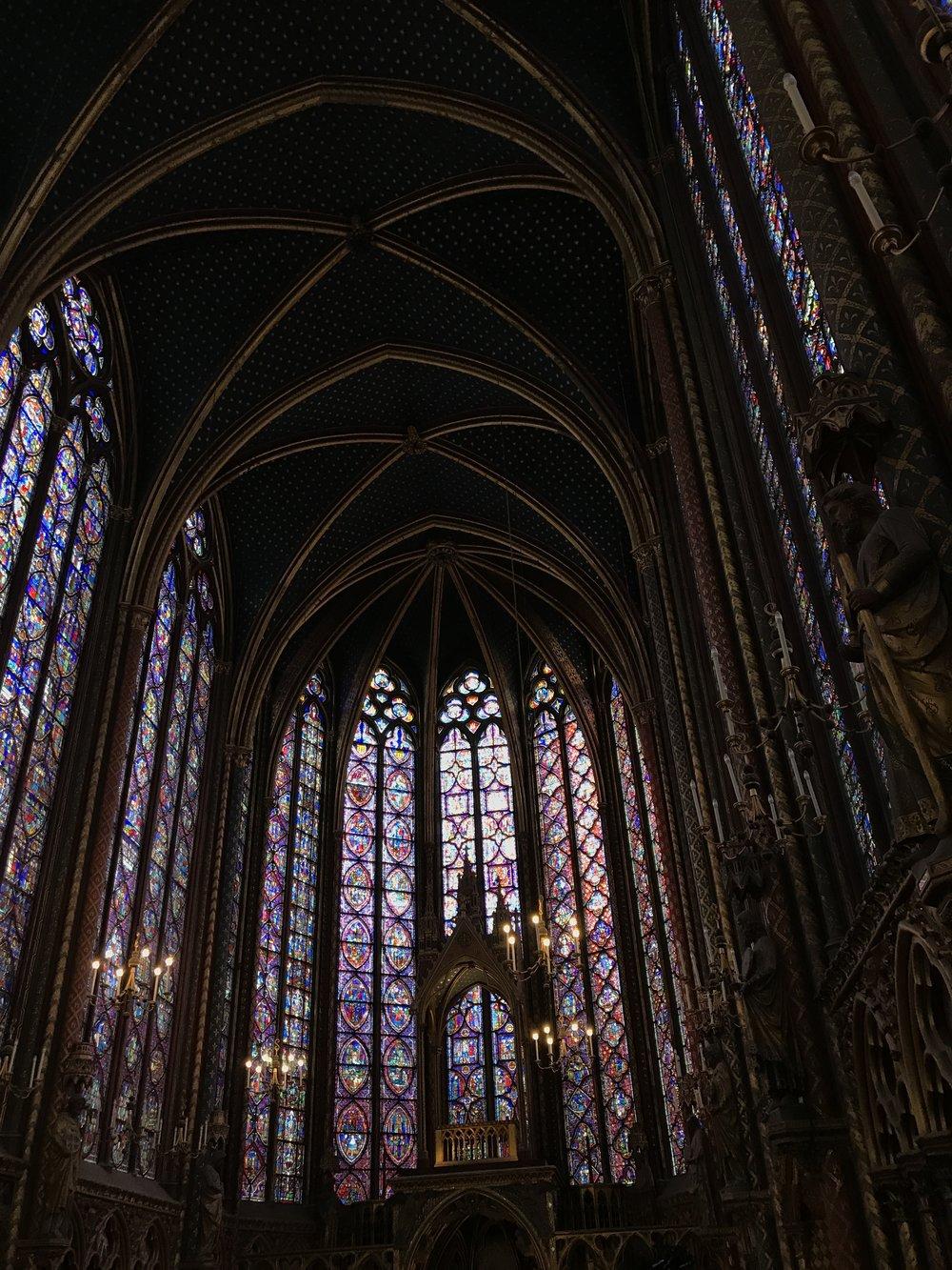 Sainte Chapelle, Ile de la Cite