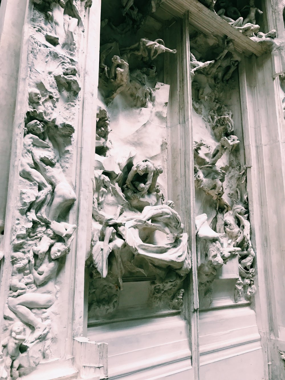 Cast from the Gates of Hell by Auguste Rodin