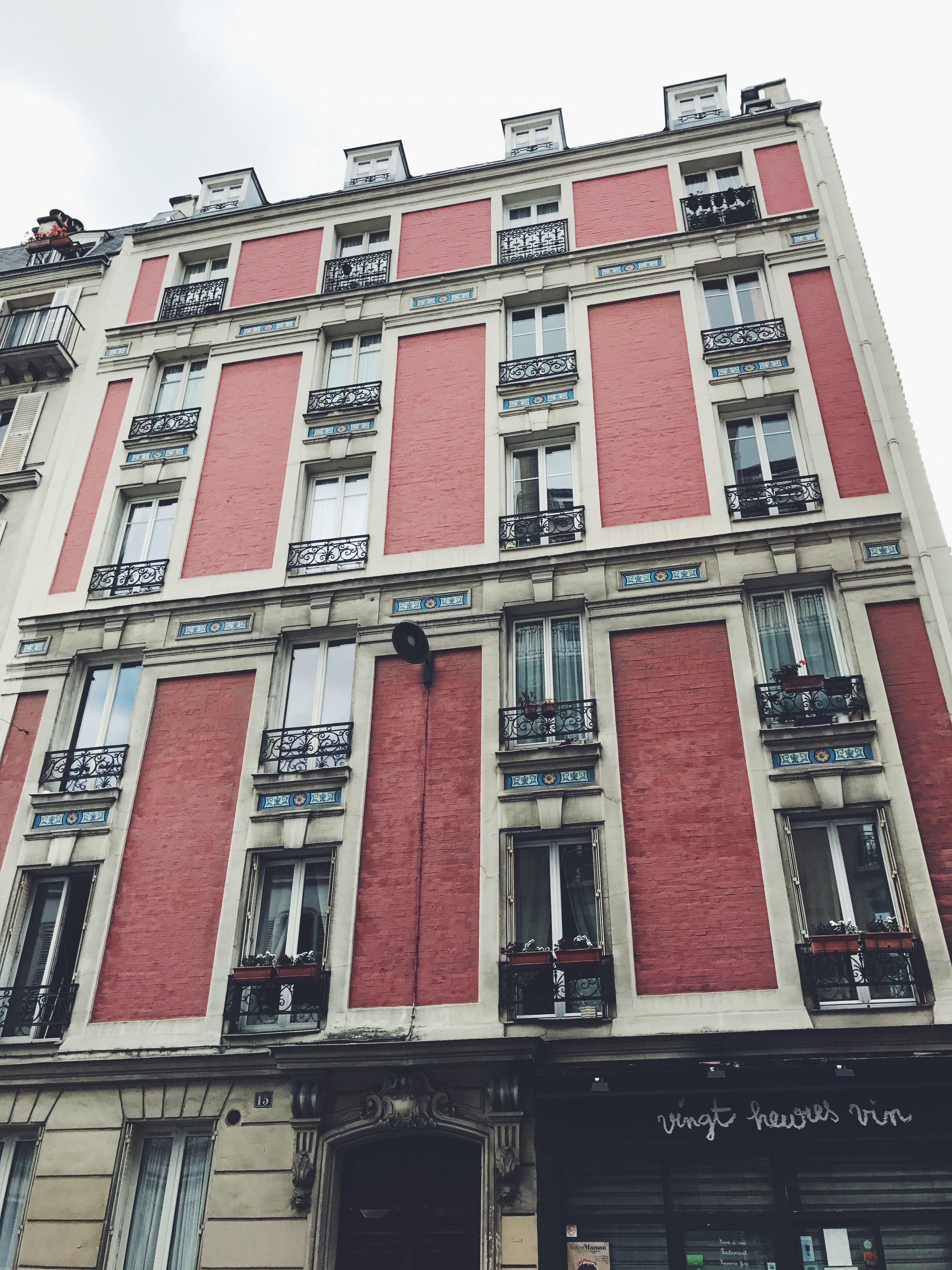 Van Gogh's house, Montmartre