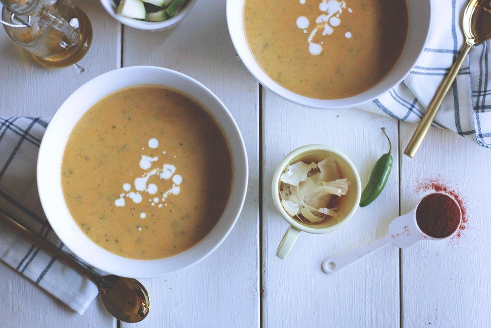 Spicy Zucchini Soup - Tastemaker Blog