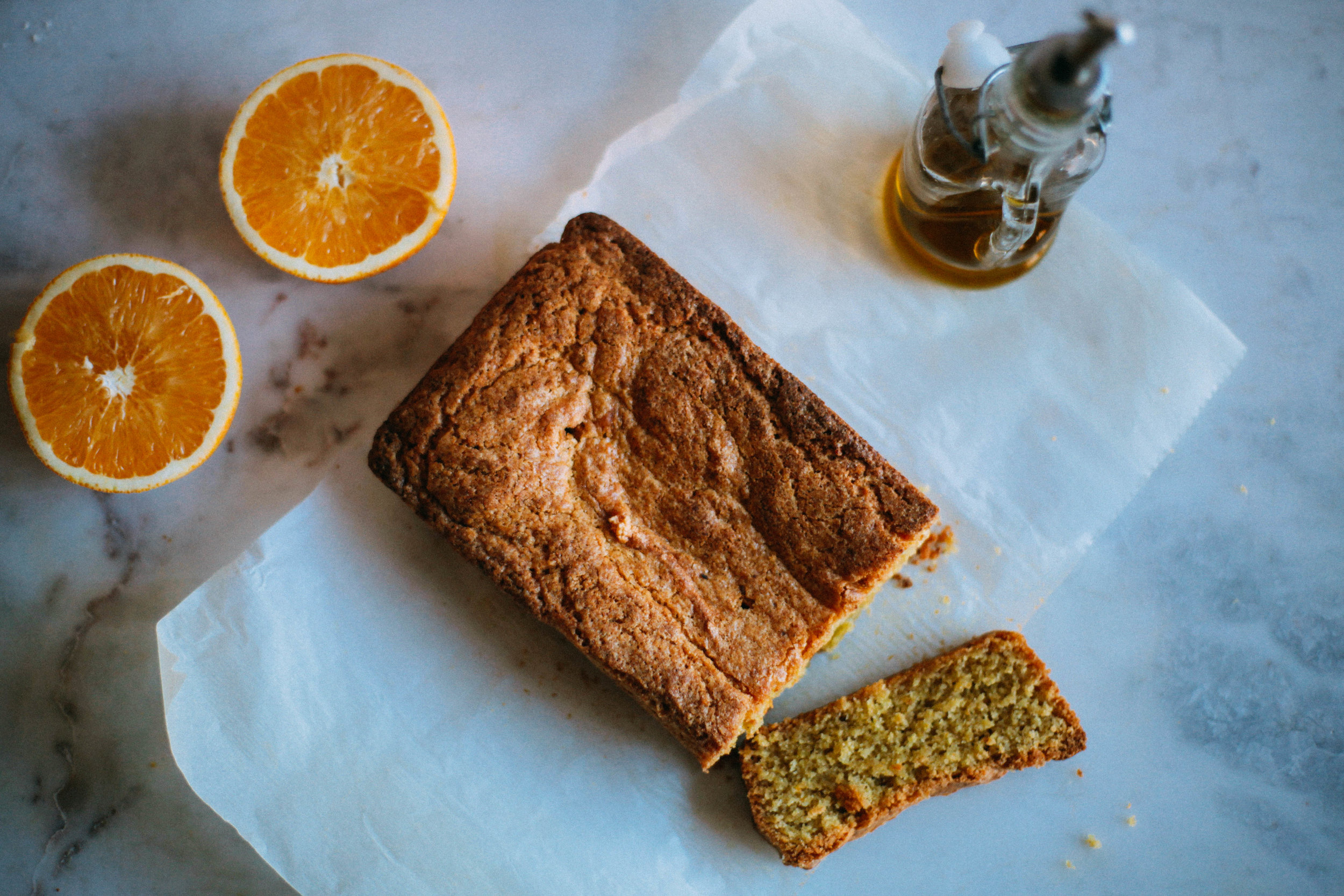 Christmas Orange and Olive Oil Cake - Tastemaker Blog