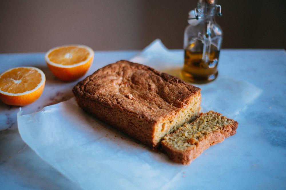 Christmas Orange and Olive Oil Cake - Tastemaker Blog