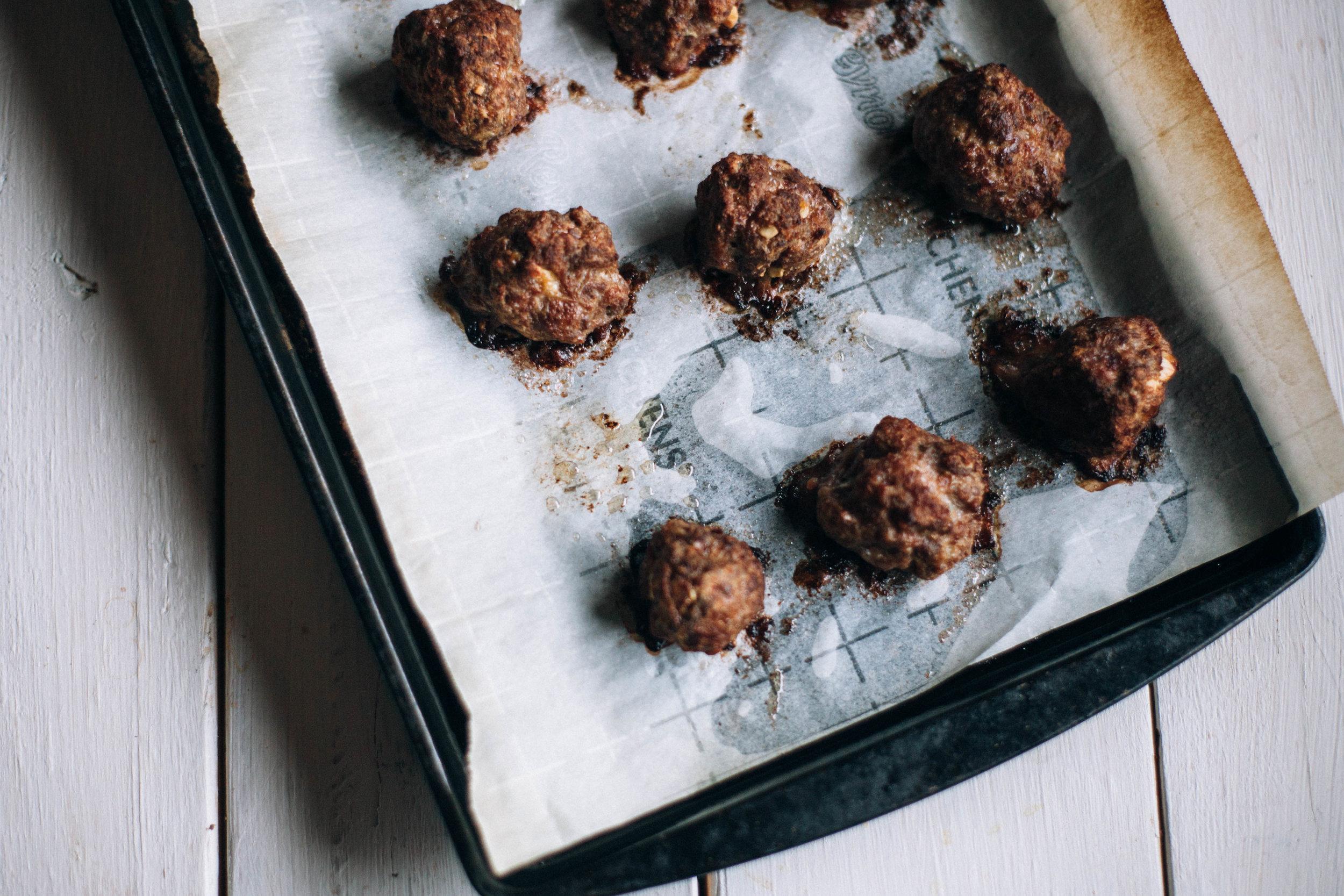 Popsy's Christmas Meatballs - Tastemaker Blog