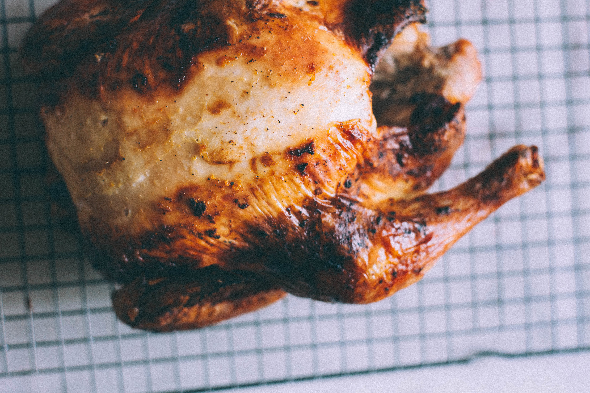 Orange Brined Roast Chicken - Tastemaker Blog