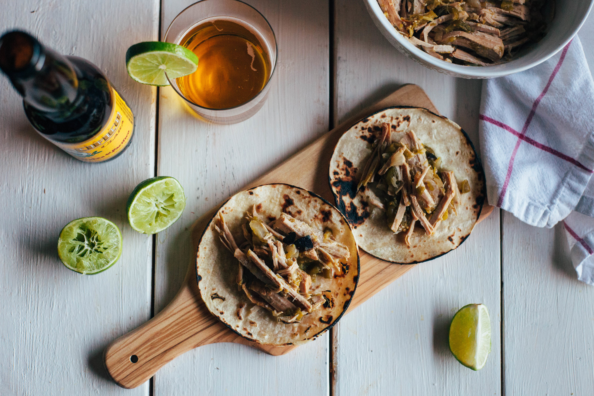 Instant Pot Green Chile Pork Carnitas - Tastemaker Blog