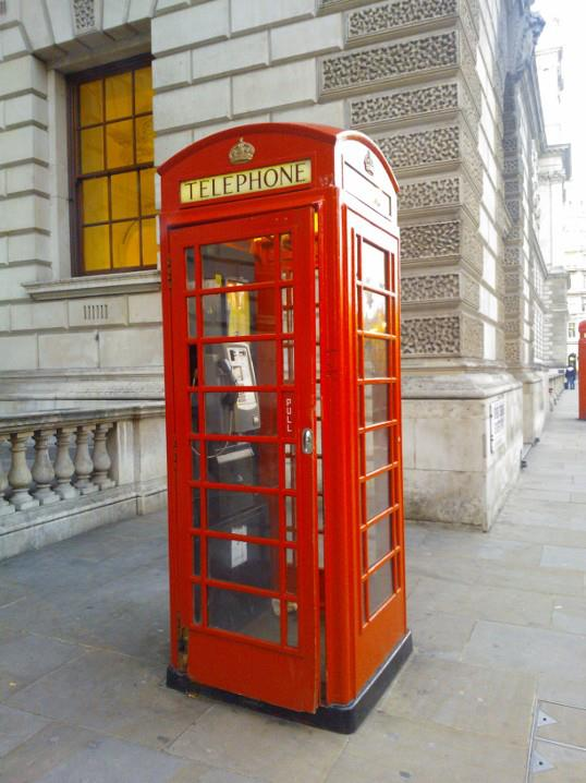 Phone Booths still exist?