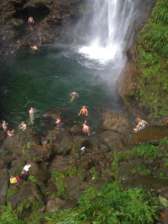 Grenada Waterfalls