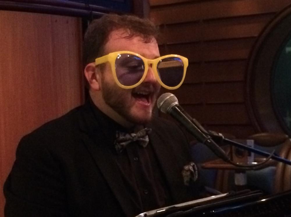Always love to do a bit of Elton john.