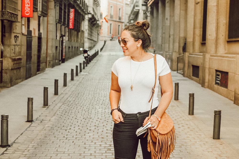Strolling in Madrid