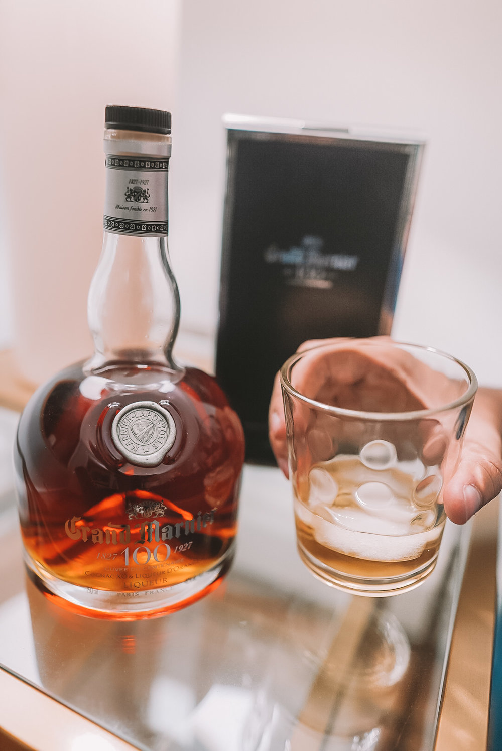 Grand Mariner 100 years - I recently had the opportunity to taste this fine wine for the first time, while I was in Florida. This is actually a special edition wine that celebrates its company's 100th anniversary. It is a treat to cherish, I can assure you that.