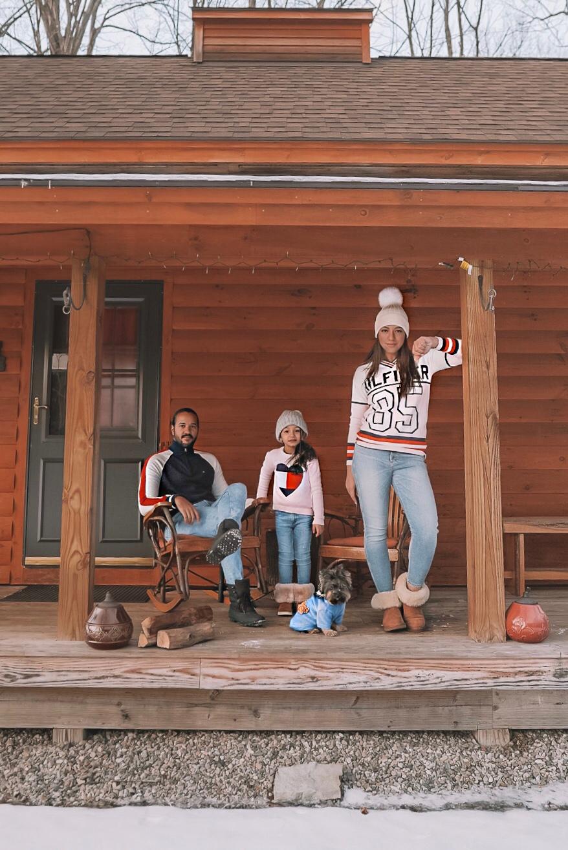 Airbnb cabin in Vermont