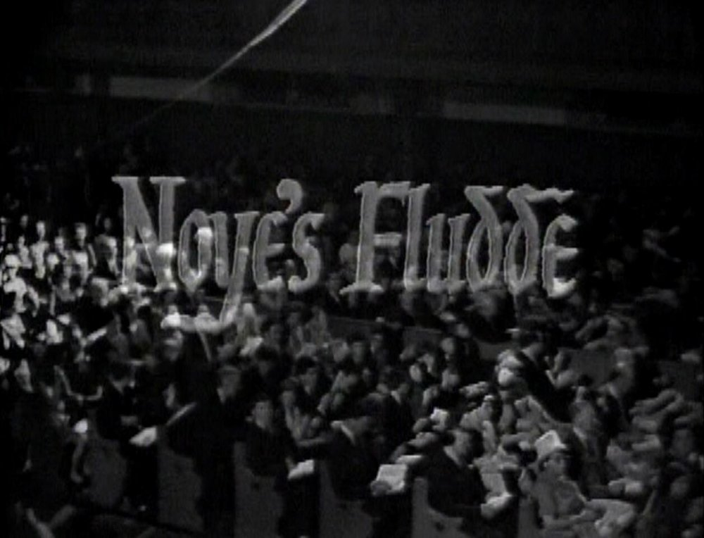 CBS broadcast of  Noye's Fludde , 1964.