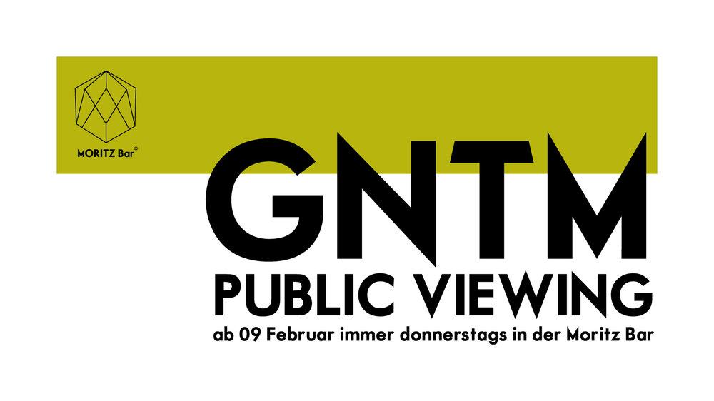 GNTM Public Viewing