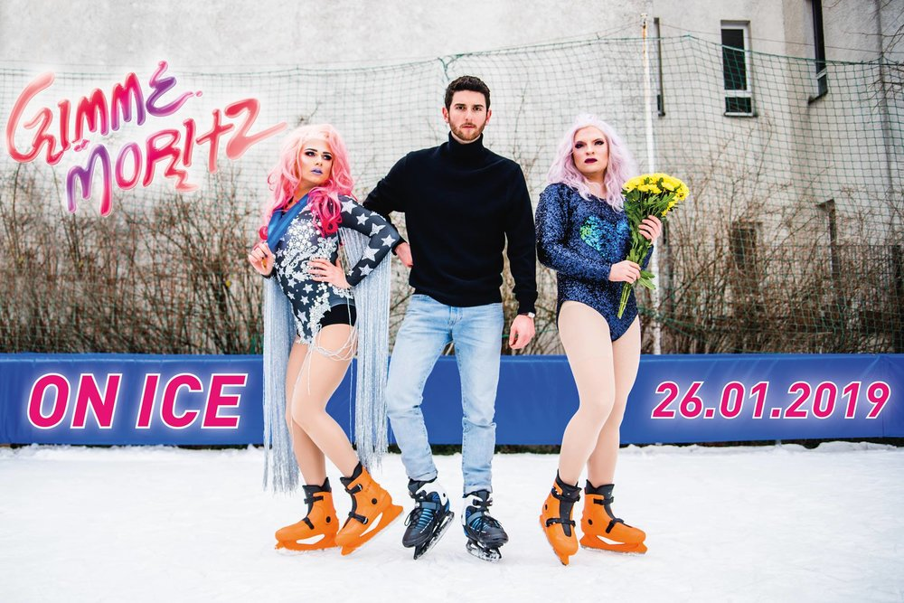 "Moritz Bar präsentiert Gimme Moritz On Ice die Clubnacht im Humboldthain Club 26 01 19 / 23.55 H  POP Jurassica Parka Anna Klatsche Victoria Bacon  DISCO / HOUSE Fixie Fate Sharevari  DRAG SHOW das Girl-Group-Comeback von ""Die Süßmäuse"" mit Polly Puller Victoria Bacon Anna Klatsche hosted by Kilian  SHOT HOST Ellie Caballé  ON ICE: Denn der Wedding ist cool und ihr wisst es. DISCO TIME: Wir liefern euch zum ersten Mal einen Disco / House Floor. FREE SHOTS: 200 gratis Shots von unserer Shot Host. CHILL TIME: Kommt runter in unserer beheizten Gimme Moritz Winterhütte.  QUEER WEDDING SUBCULTURE    FB VERANSTALTUNG"