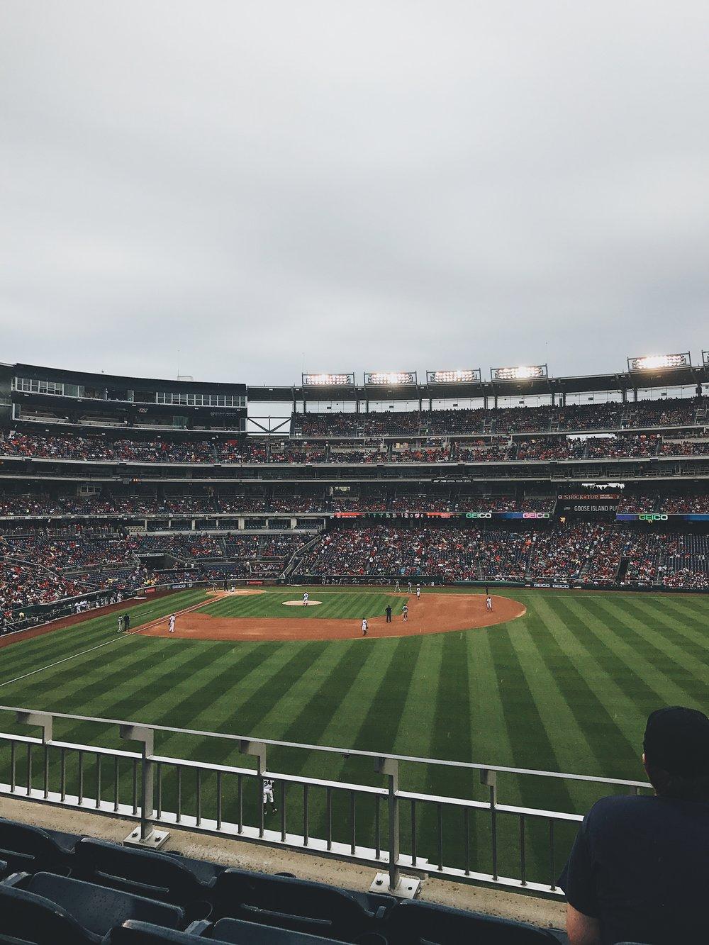 Nationals Baseball Game | Photo Credit: Chad Jimenez