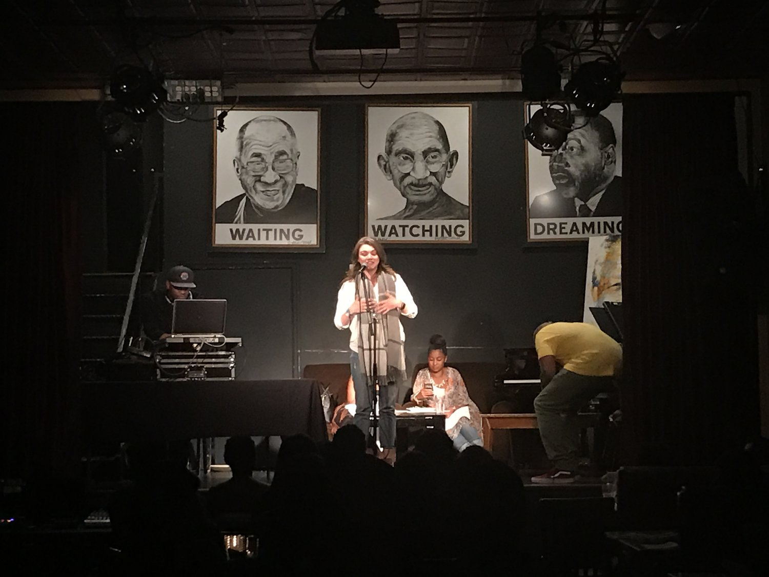 Busboys & Poets Open Mic | Photo Credit: Chad Jimenez