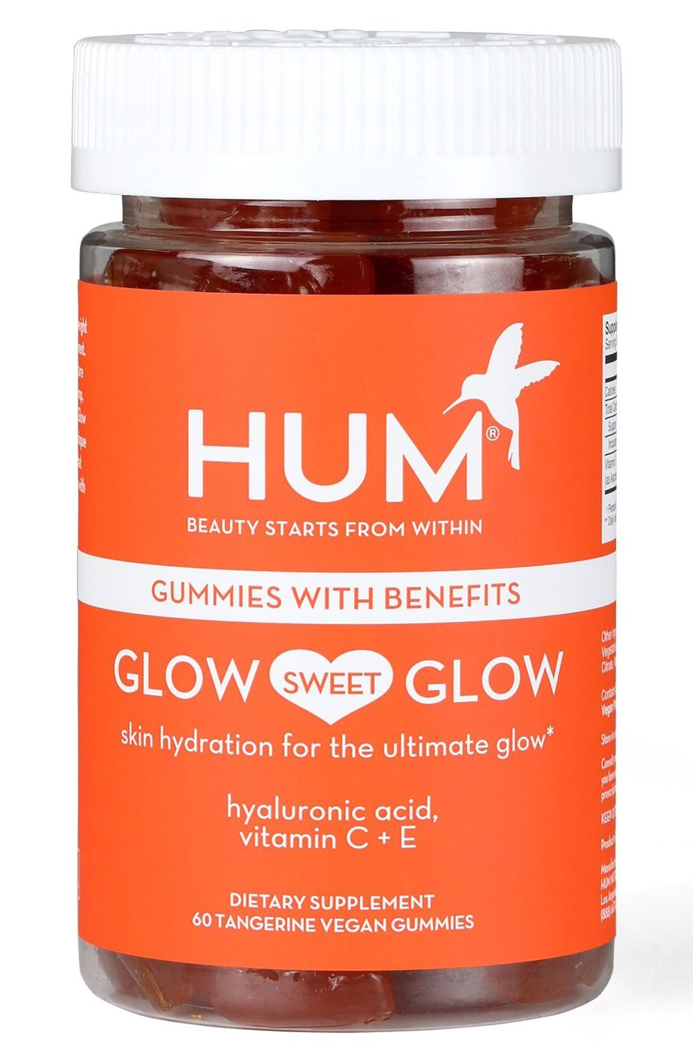 7. HUM Glow Sweet Glow Suppliment - Facts: Free of sulfates, phthalates, parabens, petrochemicals, mineral oil, silicone and talc, vegan and cruelty free.Shop Here