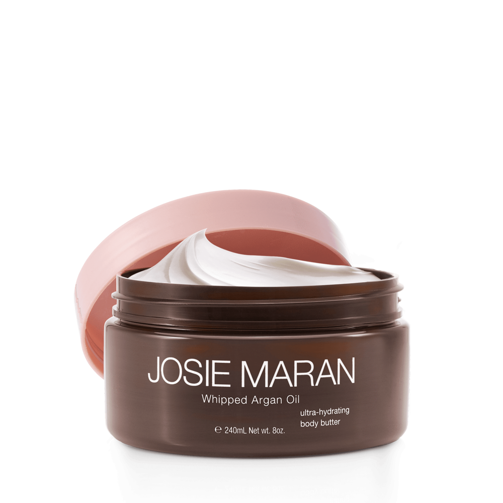 3. Josie Maran Whipped Argan Oil - Facts: Vegan, gluten-free, cruelty-free, GMO-free, synthetic-fragrance-free, and formaldehyde-free.Shop Here